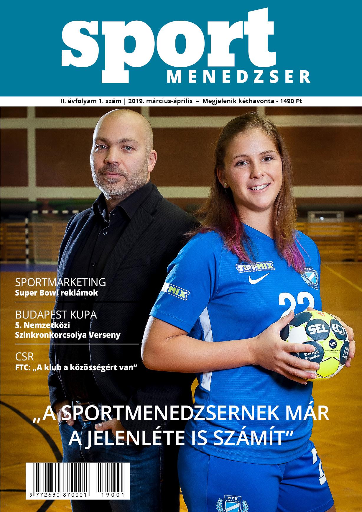 SportMenedzser Magazin - II. évf -1. sz